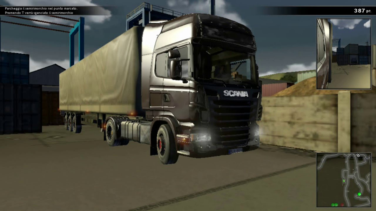 Скачать мод на scania truck driving simulator