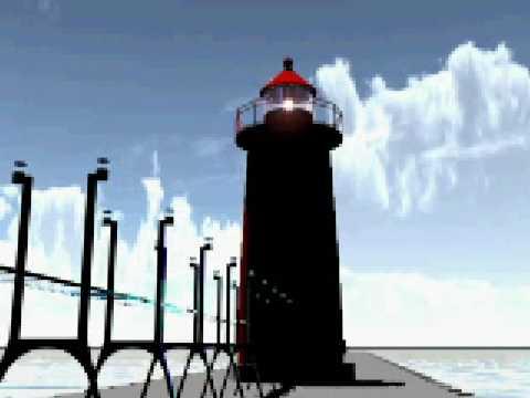 VIZ Grand Haven Lighthouse