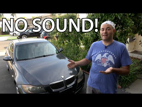 BMW E90 DIY Radio Not Working — How to Fix!