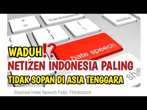 netizen indonesia paling tidak sopan di asia tenggara