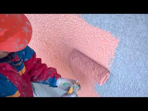 как  нужно  красить  снаружи  шубу   на  фасаде .