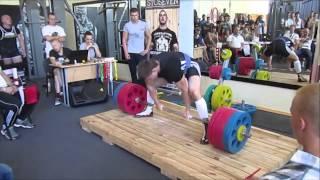 Соревнования по становой тяге в зале ОЛИМП 3.07.15