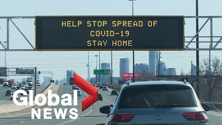 Border checkpoints, increased police powers as Ontario strengthens COVID-19 measures