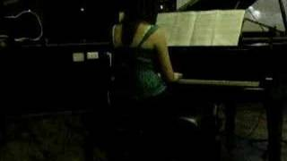 only hope (a walk to remember) piano solo at leavers concert