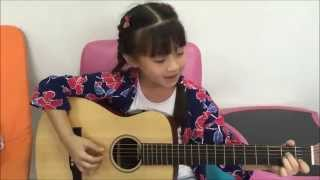 Lenka - The Show ,Guitar Acoustic Cover by Gail Sophicha น้องเกล