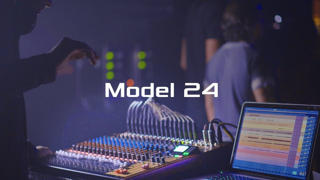 Tascam Model 24 | 22-Channel Analogue Mixer With 24-Track