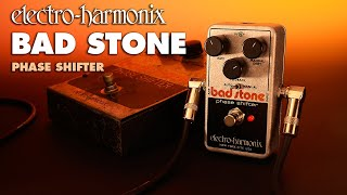 electro harmonix bad stone phase shifter guitar effects pedal guitar center. Black Bedroom Furniture Sets. Home Design Ideas