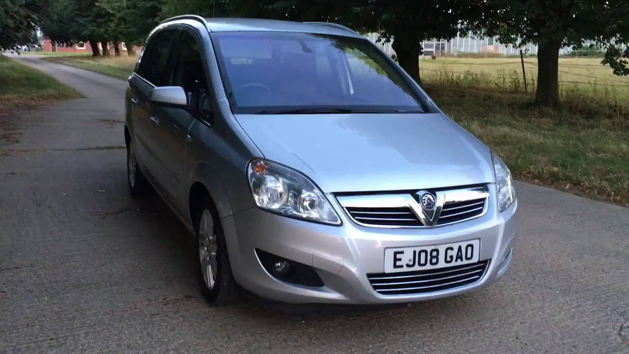 2008 vauxhall zafira elite 1 8 video review youtube. Black Bedroom Furniture Sets. Home Design Ideas