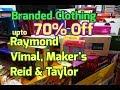 Raymond, Vimal, Maker's, Reid & Taylor, coat pant shirt wholesale market in chandni chowk delhi