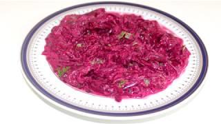 Салат из свеклы с чесноком и майонезом
