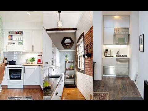 Ideas cocina peque as modernas 2018 decoracion youtube for Ideas decoracion cocinas pequenas