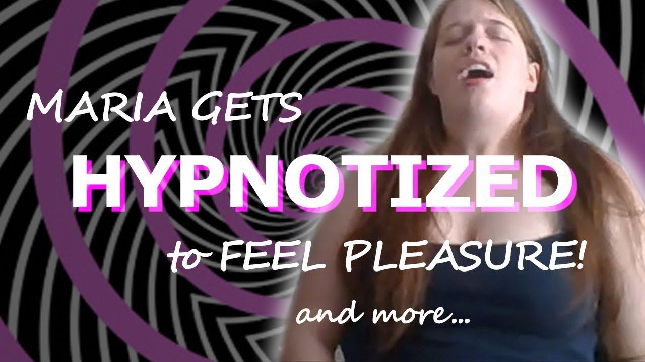 AMAZING SUBJECT gets HYPNOTIZED to feel PLEASURE!