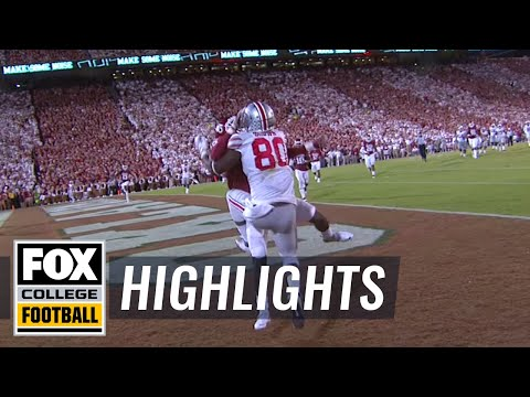 Noah Brown one-handed TD catch against Ohio State | 2016 College Football HIghlight