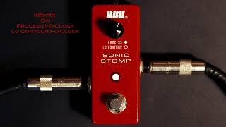 Sonic Stomp mini MS-92: Bass Demo