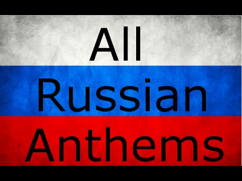 History of Russian Anthems