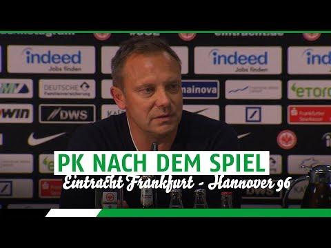 PK nach dem Spiel   Eintracht Frankfurt - Hannover 96