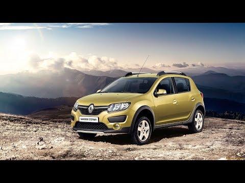 Renault Sandero Stepway Eva коврики в салон Evabel.ru