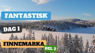 Friluftsliv - Finnemarka badet i sol og masse snø Del 2