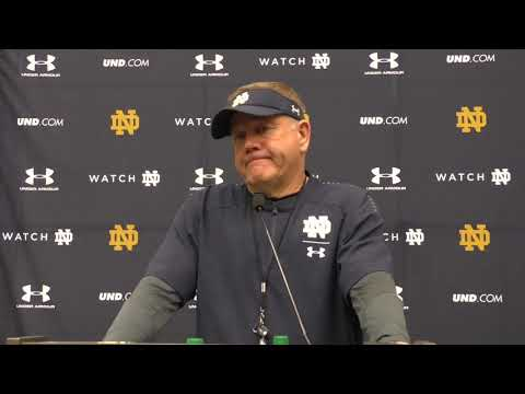 Notre Dame Iowa State Press Conference