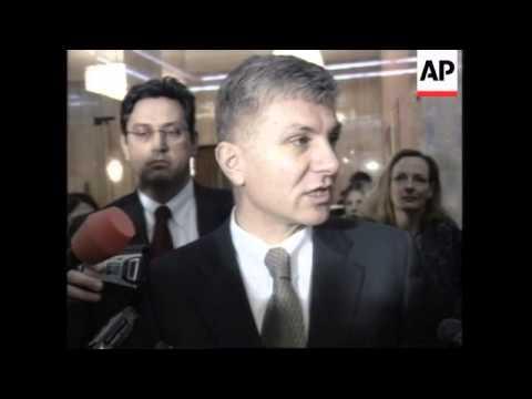 Serbian PM and Belgrade people reax