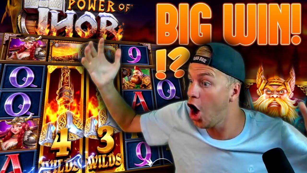 Power Of Thor Megaways Is Printing! (Big Win)
