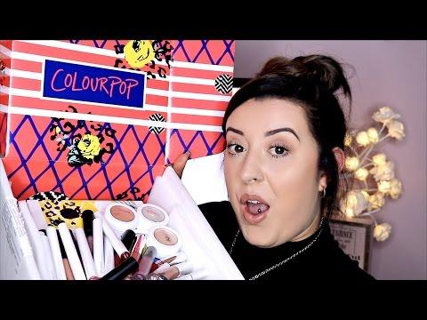 HUGE COLOURPOP HAUL!! | Lip Product Heaven! | LAURA ANN