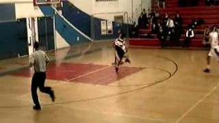 Maurice Leggett #10 Freshman Basketball American Eagles