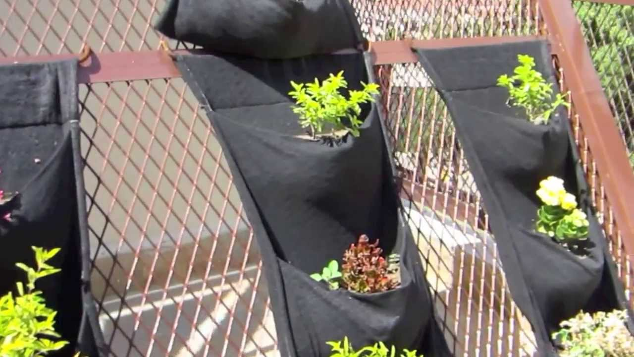 Jardines colgantes en malla expandida imt youtube - Mallas para jardin ...