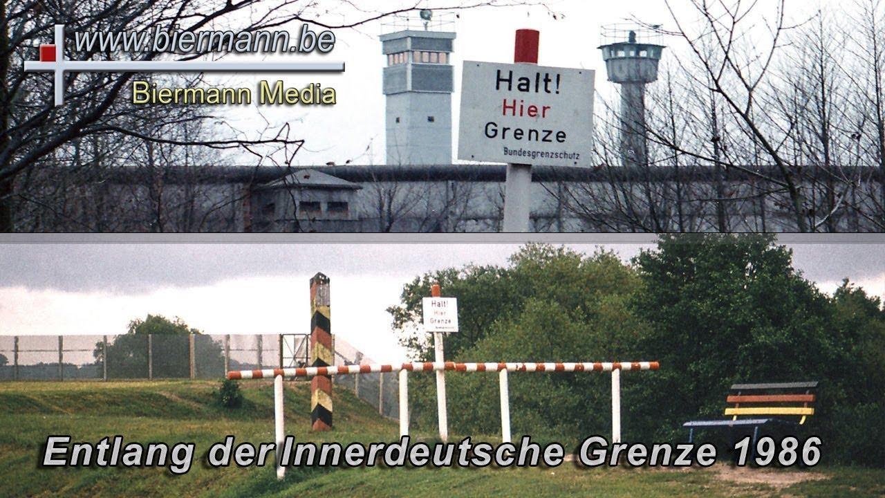 Verlauf Ddr Grenze Karte.Entlang Der Innerdeutsche Grenze 1986