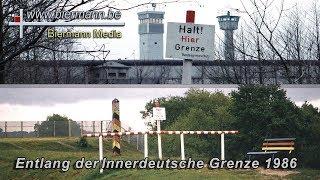 Entlang der Innerdeutsche Grenze 1986