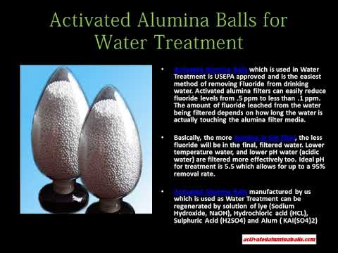 Activated Alumina Balls for Water Treatment - activatedaluminaballs.com
