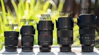 Which 50mm Lens Should You Buy for Sony Full Frame? Buying Guide 2018