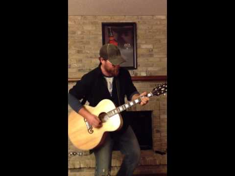 Eric Church - Creepin' cover by Keaton Power