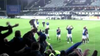 Stabæk Support etter Rosenborg - Stabæk.AVI