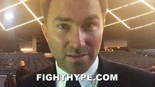 EDDIE HEARN GIVES JERMALL CHARLO AN ULTIMATUM; IF HE WANTS MIDDLEWEIGHT TITLE, MUST SIGN WITH DAZN