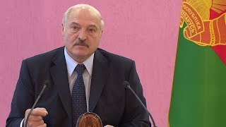 Лукашенко: Работать! Притом очень жестоко!