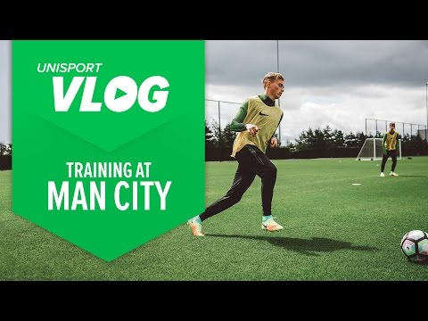 Crossbar Challenge With Kevin De Bruyne + Magista Obra 2 Trial at Manchester City