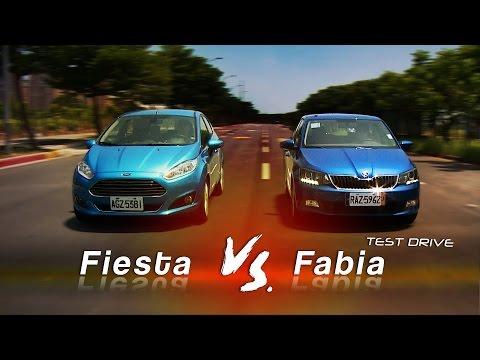 Fiesta 1.0 vs. Fabia 1.2 集評