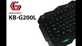 обзор игровой клавиатуры Gembird KB-G200L