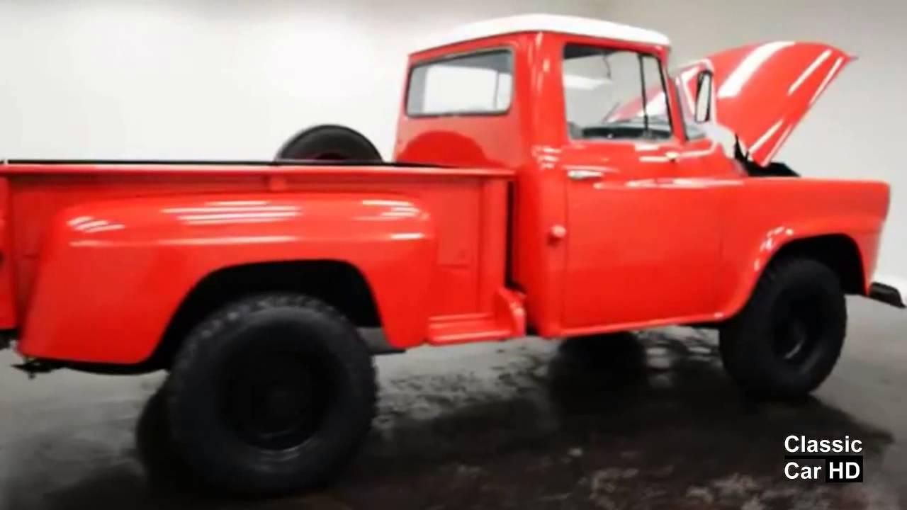 1958 International A120 4x4 Pickup - Classic Car HD