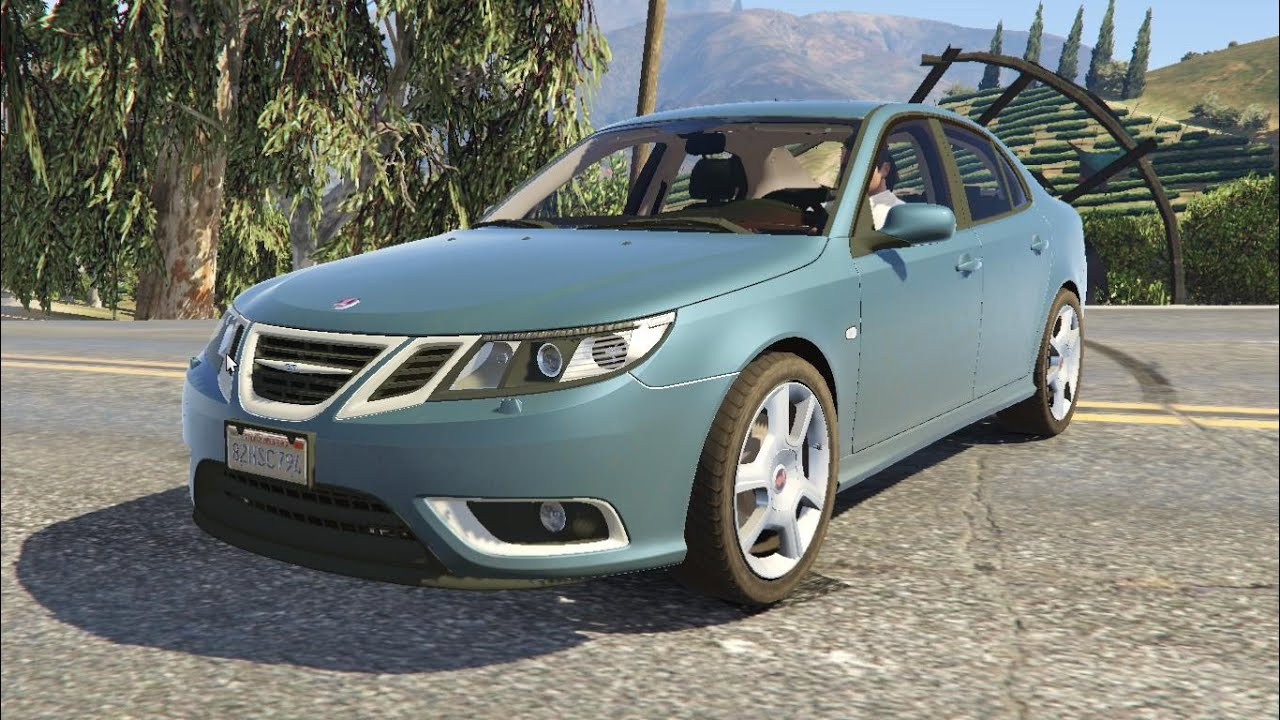 saab 9 3 turbo x gta v download link youtube. Black Bedroom Furniture Sets. Home Design Ideas