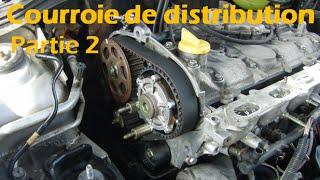 [CLIO RS1] Remplacement courroie de distribution partie 2/3