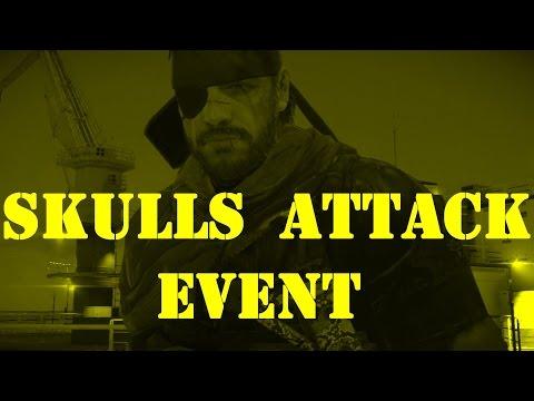 Metal Gear Solid 5 - Forward Operating Base Missions - Big Boss - Skulls Attack Event (2016/10/4)