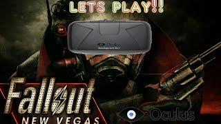 Fallout new Vegas oculus rift dk2 gameplay