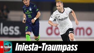 Vissel Kobe-Tor: Andrés Iniesta liefert Traumpass über den halben Platz