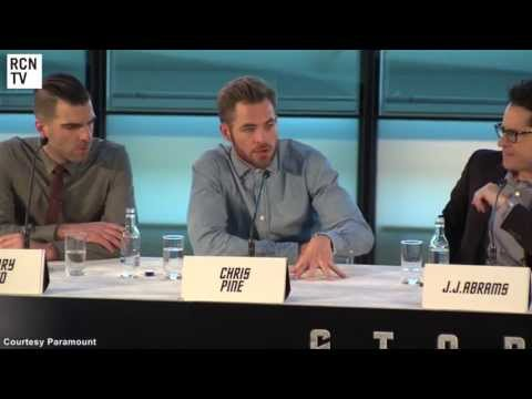 Star Trek Into Darkness London Press Conference
