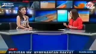 Putusan MK, Kemenangan Rakyat | SUARA ANDA METROTV | 20 Agustus 2013