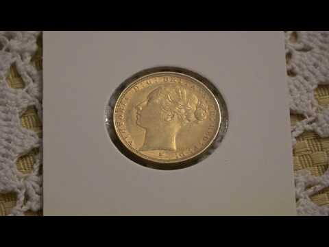 1885 Melbourne Mint Sovereign - My First Gold Coin Upload