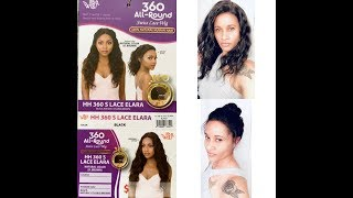 IT'S A WIG 360 ALL ROUND 100% HUMAN HAIR LACE WIG