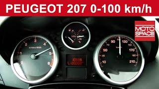Peugeot 207 1.4 HDI 0-100 km/h | motospace.pl